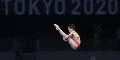 Sporttörténelem: Tökéletes ugrásokat mutatott be a 14 éves toronyugró az olimpián - videó