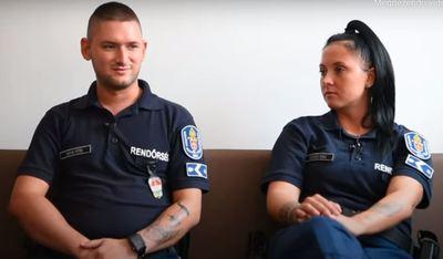 Újra szolgálatba állt az Újpesten leszúrt rendőr és társa – videó