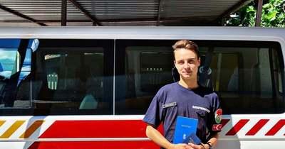 Önkéntesből lett hivatásos tűzoltó a mezőfalvi fiatalember