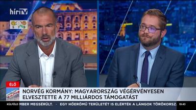Kőrösi Koppány - Magyarország nem fogadja el Norvégia diktátumát