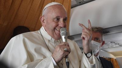 Ferenc pápa: Elfogadhatatlan, hogy az Európai Uniót ideológiai gyarmatosításra használják