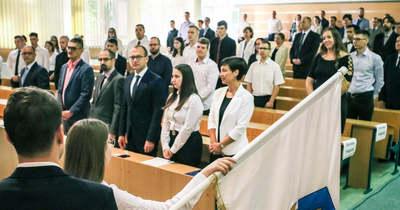 A nagykanizsai évnyitón 108 hallgatót fogadtak egyetemi polgárrá