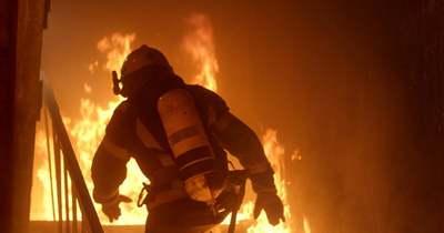 Kigyulladt egy ház Taranyban, egy ember bent égett