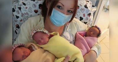 Megszülettek az első kevermesi hármas ikrek