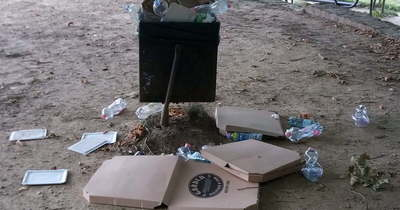 Felháborító szemetelés: csomagolóanyagok csúfítják a kanizsai Csónakázó-tó partját