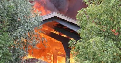 Lángokban áll két istálló Hódmezővásárhelyen