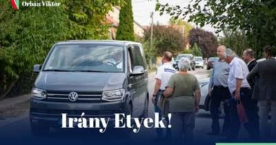 Etyekre utazott Orbán Viktor – Fotó!