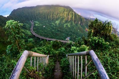 Megszüntetik Hawaii mennyorságba vezető lépcsőjét