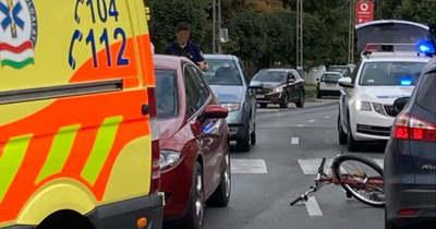Elütöttek egy biciklist Szekszárdon