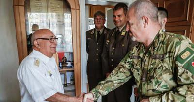 80 éves lett a nyugalmazott alezredes, aki hazaszeretetből lett katona