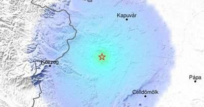 Földrengés volt Ivánban
