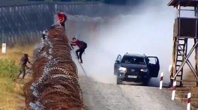 Drámai felvételek: Így próbálnak átjutni Magyarországra a migránsok – videó