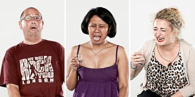 Vicces vagy fájdalmas? Ilyen arcot vágnak az emberek, miután lehúznak egy felest - Galéria
