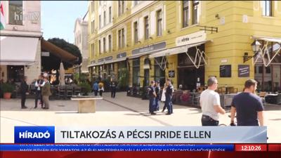 Tiltakozás a Pécsi Pride ellen