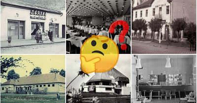 5+1 kép a múltból – Felismered a régi nógrádi vendéglátóhelyeket?