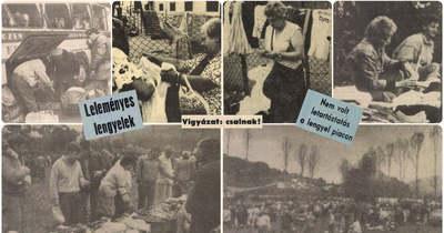 Emlékeztek még? Tömegeket mozgatott meg régen a salgótarjáni lengyel piac
