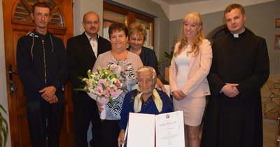 A százéves kányavári Margit néni szerint ez a hosszú élet titka