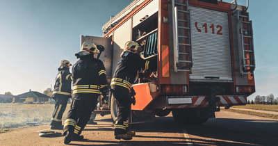 Tűz ütött ki egy tolnai fatelepen