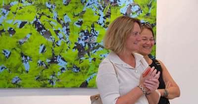 Világhírű művészek kiállítása Balatonfüreden