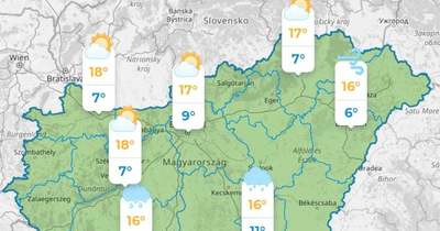 Riasztó előrejelzés: Ilyen lesz az időjárás a héten