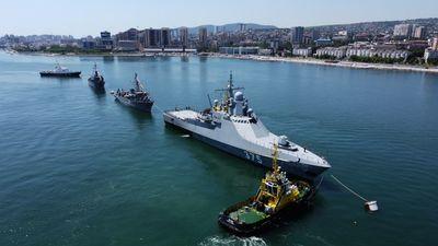 Orosz hadihajók lepték el a Fekete-tengert