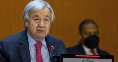 Hidegháborút emleget az ENSZ-főtitkár
