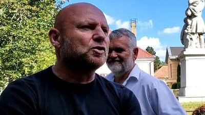 Megkérdezték Jakab Péter agresszív testőrét, hogy miért kapott 42 millió forintot - videó
