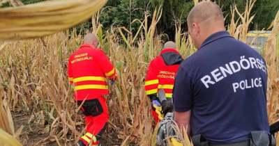 Rendőrhelikopter találta meg az eltűnt somogyaszalói férfit