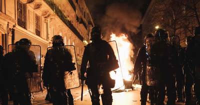 """""""Franciaország egy polgárháború küszöbén áll"""" – figyelmeztetett a jobbközép elnökjelölt"""