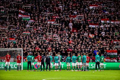 Súlyos büntetést kapott a magyar-angol meccs miatt a magyar válogatott