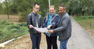 Szabadidő parkot alakítanak ki a balatonfüredi lakótelepen