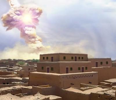 Az egész várost kiirtotta a felrobbanó aszteroida