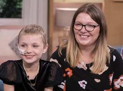 Minden lélegzetért megküzdött a 10 éves angyalarcú kislány, mégis legyőzte a rák