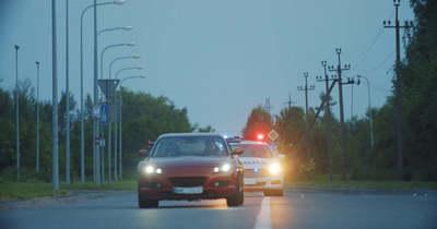 Rendszám nélküli autóval menekült Siófok, az egyébként is körözött haverjával