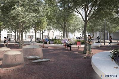 Íme, az új látványtervek: ilyen lesz a zöldülő Blaha Lujza tér