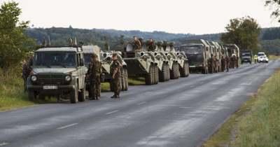 Katonai konvojra kell számítani csütörtök-pénteken többfelé az utakon