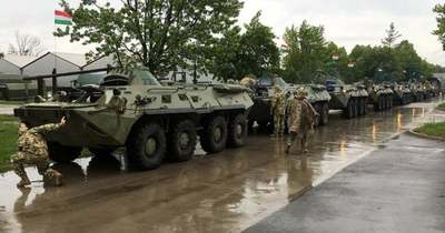 Katonai konvojra kell számítani csütörtök és pénteken az M5-ösön is