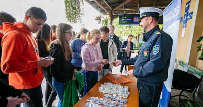 A vasúti balesetek megelőzésére hívták fel a figyelmet Egerben