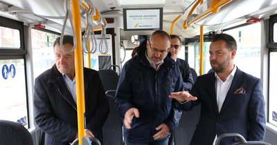 Új autóbuszokkal bővült a Bács-Kiskun megyei járműállomány