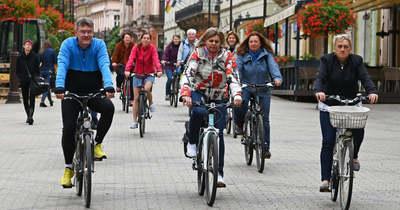 Reggeli falatozásra hívták a somogyi kerékpárosokat Kaposváron