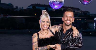 Ijesztő pillanatok: súlyos balesetet szenvedett Metzker Viki a Dancing with the Stars-ban