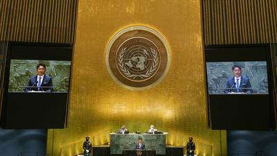 Az afganisztáni tálibok is fel akarnak szólalni az ENSZ-közgyűlésben
