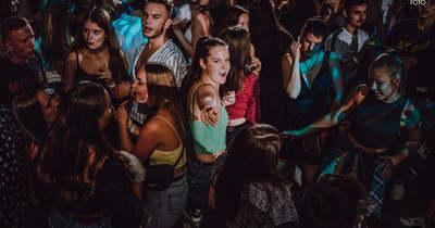 """""""Lúztáj"""" party a Stefánián"""