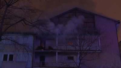 Egymást mentették a diákok a kollégiumi tűzben, egy négygyermekes családapa meghalt - videó