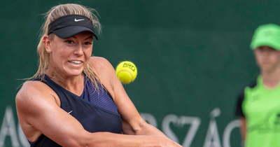 Babos Tímeát is megelőzte a világranglistán: balatonfüredi a legjobb magyar teniszezőnő