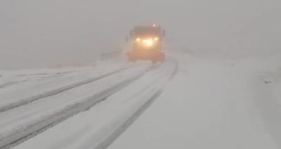 Szakad a hó Magyarország szomszédságában – videó