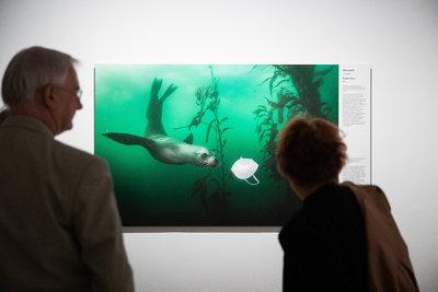 Képeken a World Press Photo 2021-es kiállításának megnyitója a Magyar Nemzeti Múzeumban