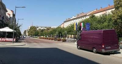 Hétfőtől megnyitják Szolnokon a Kossuth teret
