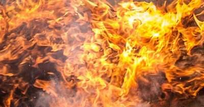 Hatalmas tűz van a hajmáskéri lőtéren
