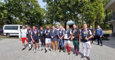 A dunaújvárosi rendőrök elhunyt kollégájuk tiszteletére szerveztek labdarúgó tornát